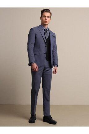 Kip Erkek İndigo Micro Dokuma Takım Elbise