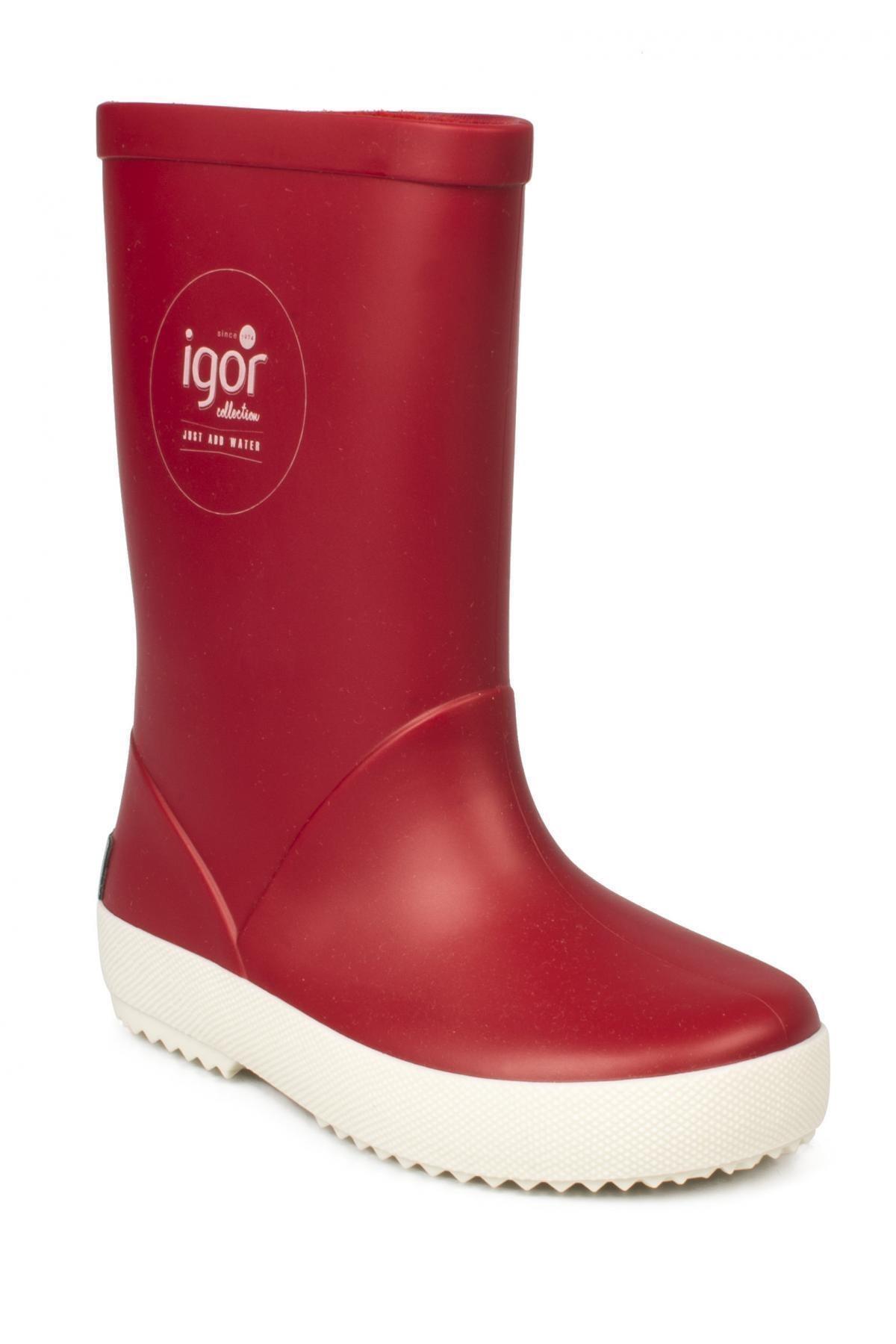 IGOR SPLASH NAUTICO Kırmızı Unisex Çocuk Yağmur Çizmesi 100317971 1