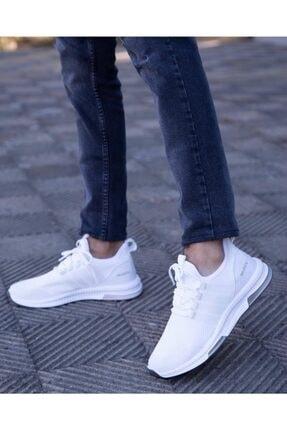 BUGGAMAN Unisex Beyaz Yürüyüş Ayakkabısı