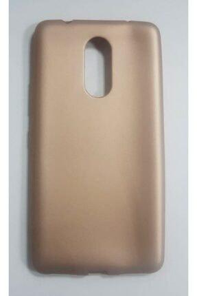 Penguen Lenovo K6 Note Gold Rubber Case Yumuşak Slikon Kılıf Tam Orjinal Kalıp