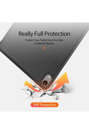 "Haweel Apple Ipad Air 4. Nesil Kılıf 10.9"" 2020 Kalem Yerli Standlı Lüx Premium Kılıf"