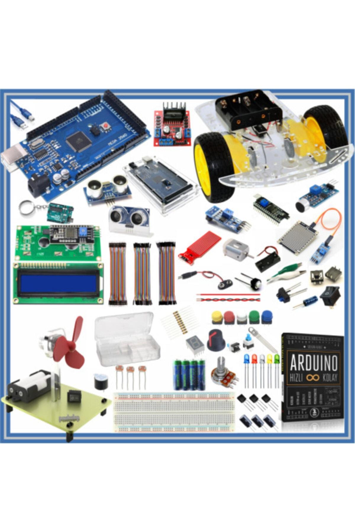 Arduino Başlangıç Seti Mega 2560 105 Parça 327 Adet 1
