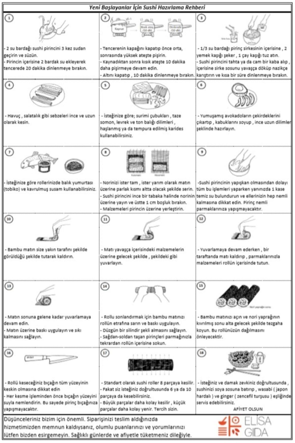 Elisa Gıda Mini Sushi Set 2