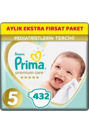 Prima Premium Care Bebek Bezi Beden:5 (11-16kg) Junior 432 Adet Aylık Ekstra Fırsat Pk