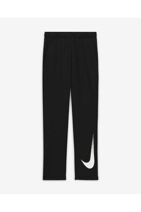 Nike Nıke Siyah Cz3948-010 B Nk Dry Flc Pant Gfx2 Nıke Çocuk Eşofman Altı