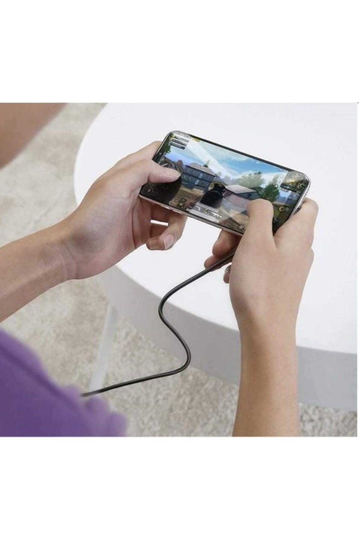 POWERWAY 3.1 A Hızlı Şarj Pubg Mikro Gaming Oyuncu Hızlı Şarj Kablosu 2