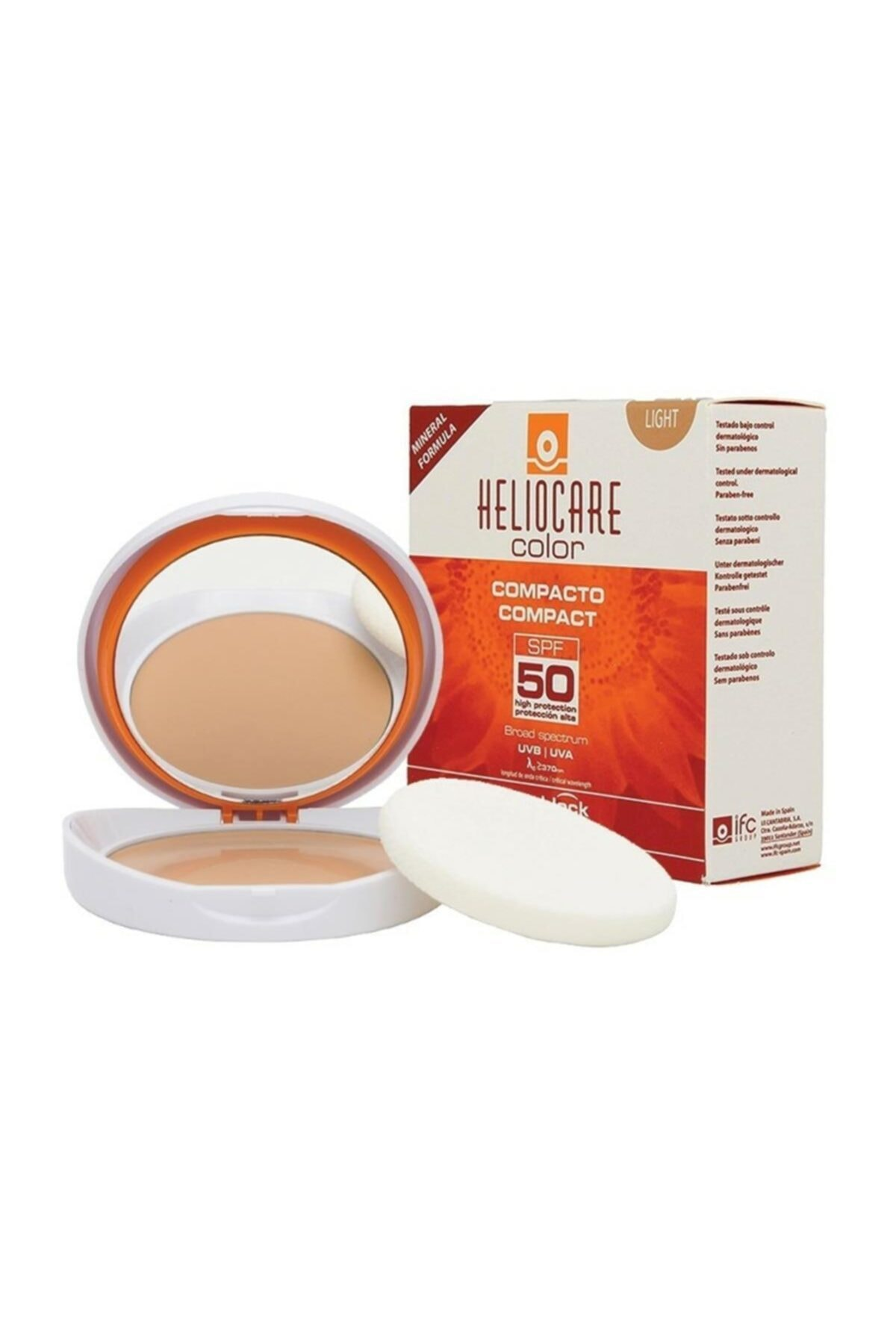 Heliocare Compact Light Buğday Ten Spf50 10 Gr 1