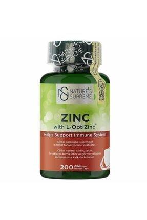 Nature's Supreme Zinc 15 Mg 200 Kapsül