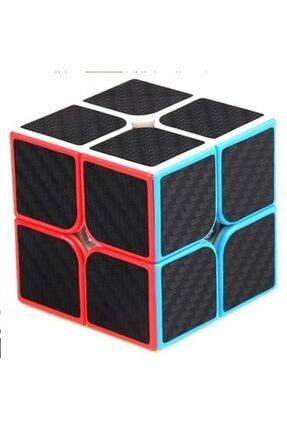 Nuvotoys Toys E Toys 2x2 Karbon Fiber Zeka Küpü Akıl Küpü Rübik Küp
