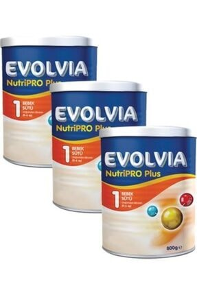 Evolvia Nutripro Plus 1 Bebek Maması 800 Gr X 3 Adet