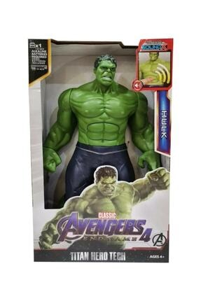 BFY TOYS Hulk Figürü - Sesli Işıklı 30 Cm Yeşil Dev Hulk Figürü , Hulk Oyuncak, Hulk, 30cm Y058