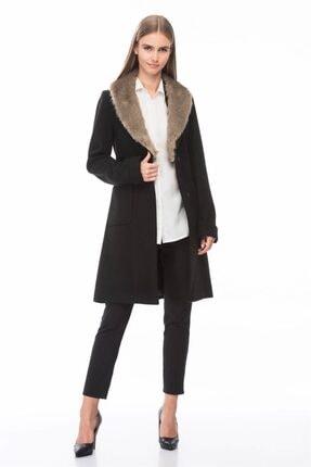 Dewberry Kadın Siyah Palto 1160001Z6569