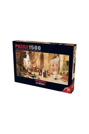 Anatolian Puzzle Anatolian 1500 Parça Puzzle : Kahirede Halı Pazarı