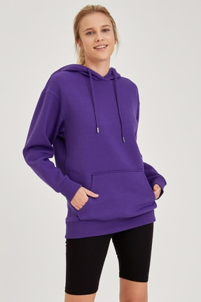 DeFacto Kapüşonlu Regular Fit Sweatshirt