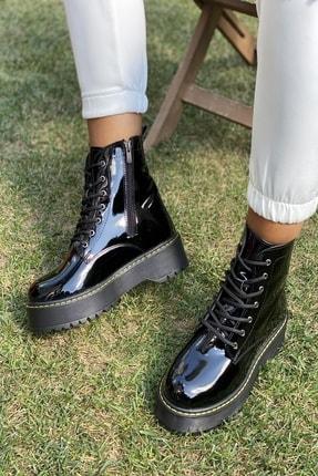 İnan Ayakkabı KADIN SİYAH RUGAN BOT&BOOTİE&POSTAL KY92500