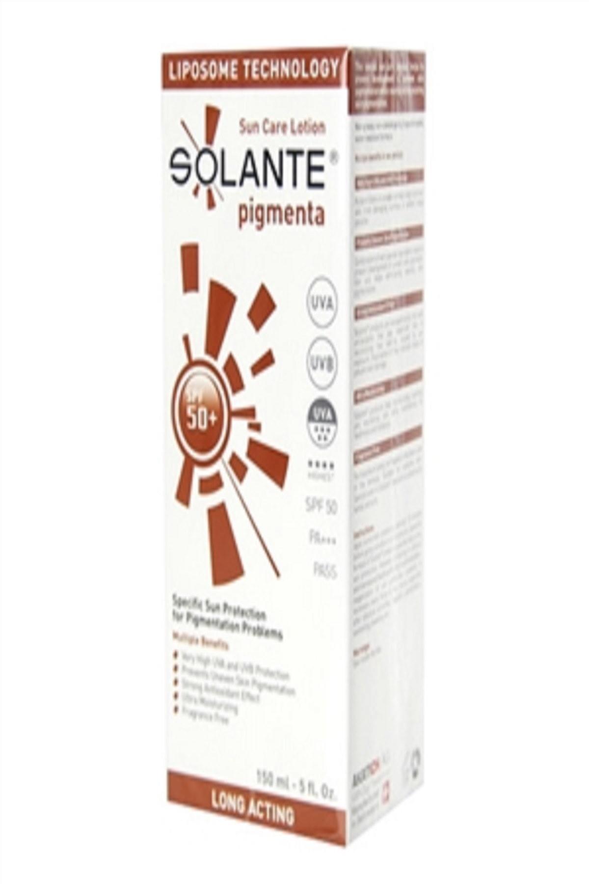 Solante Pigmenta Güneş Koruyucu Losyon 150ml Spf50+ 1