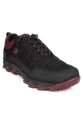 Greyder Erkek Siyah Bordo Su Geçirmez Ayakkabı 00171