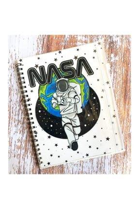 Şeker Ofisi Kalemlikli Defter Çizgili Nasa Astronot Sevgiliye Hediye