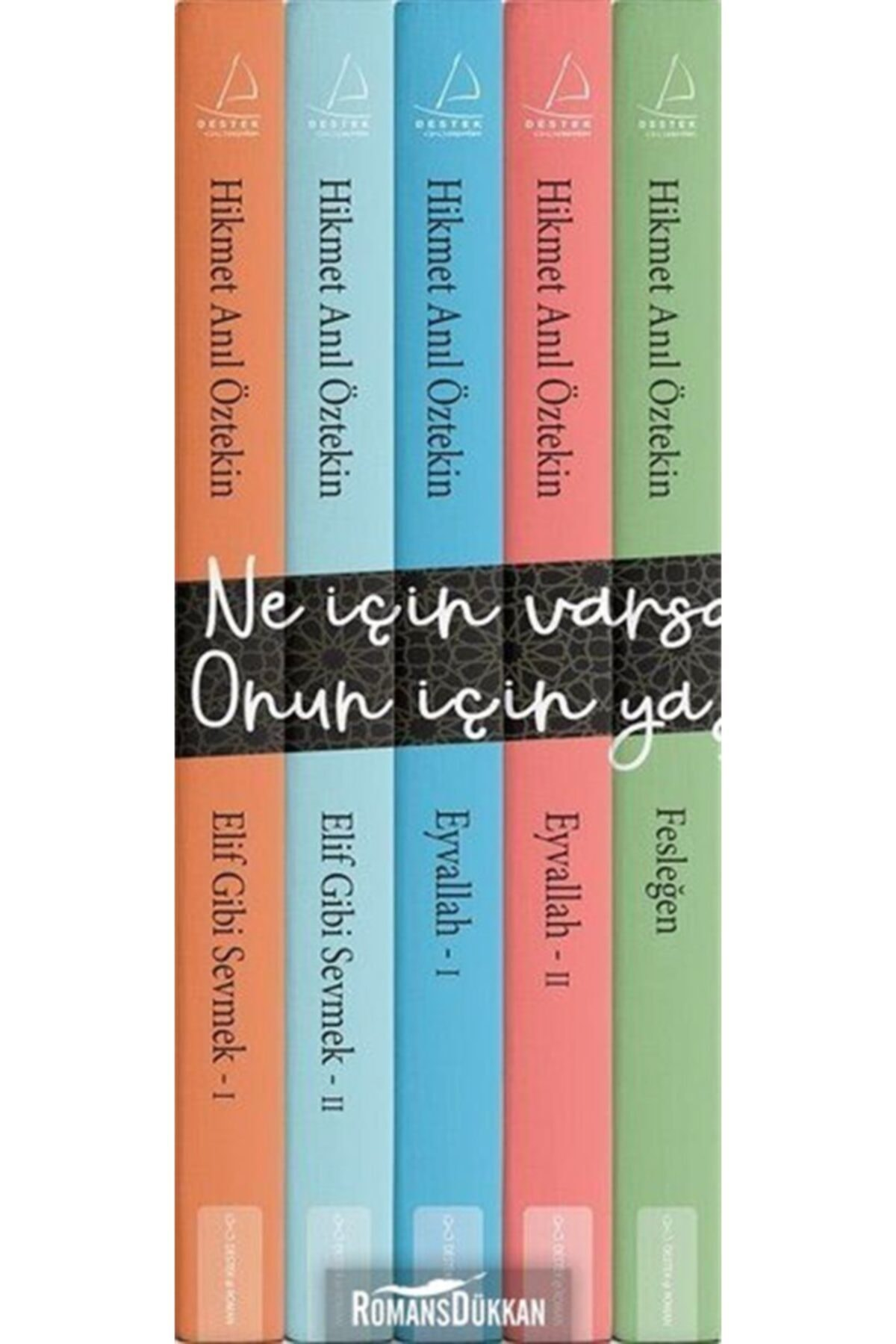 Destek Yayınları Hikmet Anıl Öztekin Seti-5 Kitap Takım 1