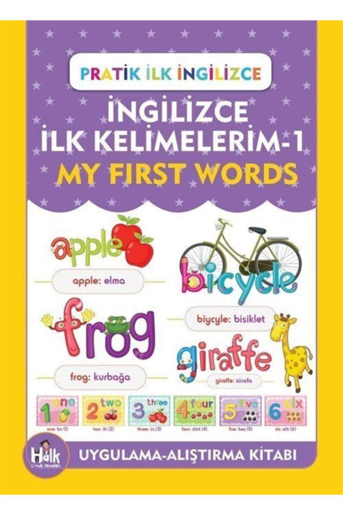 Halk Kitabevi A'dan Z'ye Ingilizce Ilk Kelimelerim - 1 & Pratik Ilk Ingilizce 1
