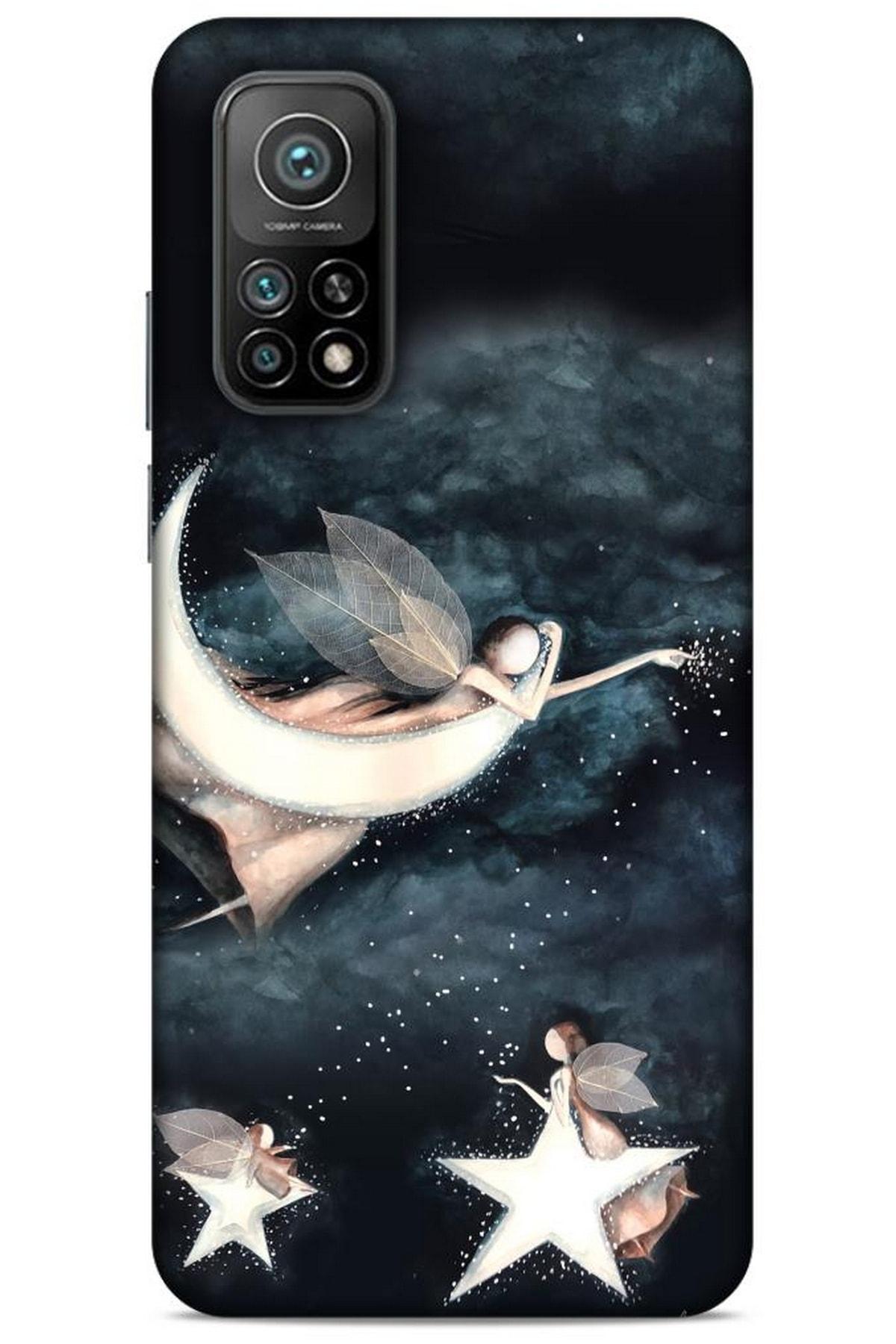 Lopard Y.liva-2020 (yıldızlı Peri) Xiaomi Mi 10t Pro 5g Silikon Kapak Desenli Kılıf 1