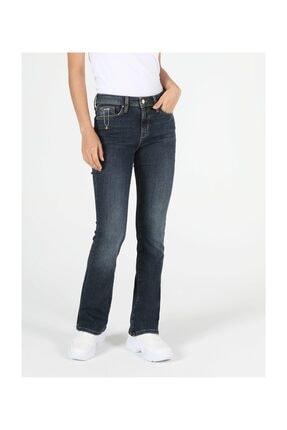Colin's 791 Monıca Regular Fit Orta Bel Boru Paça Kadın Jean Pantolon
