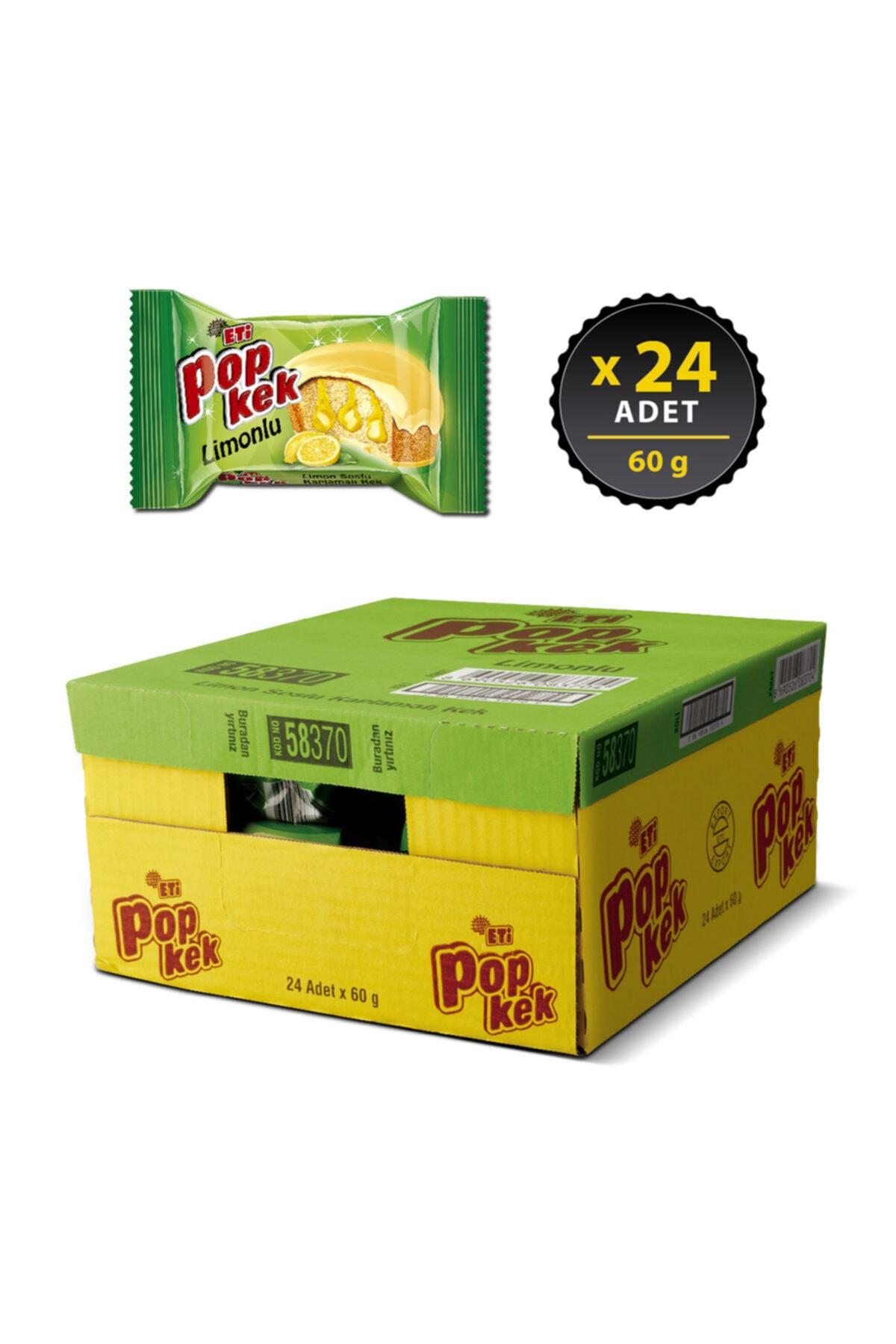 Eti Popkek Limonlu 60 G X 24 Adet 2