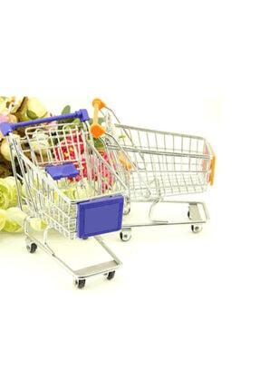 NetFırsat Mini Market Arabası Alışveriş Sepeti Kalemlik Masaüstü Eşya