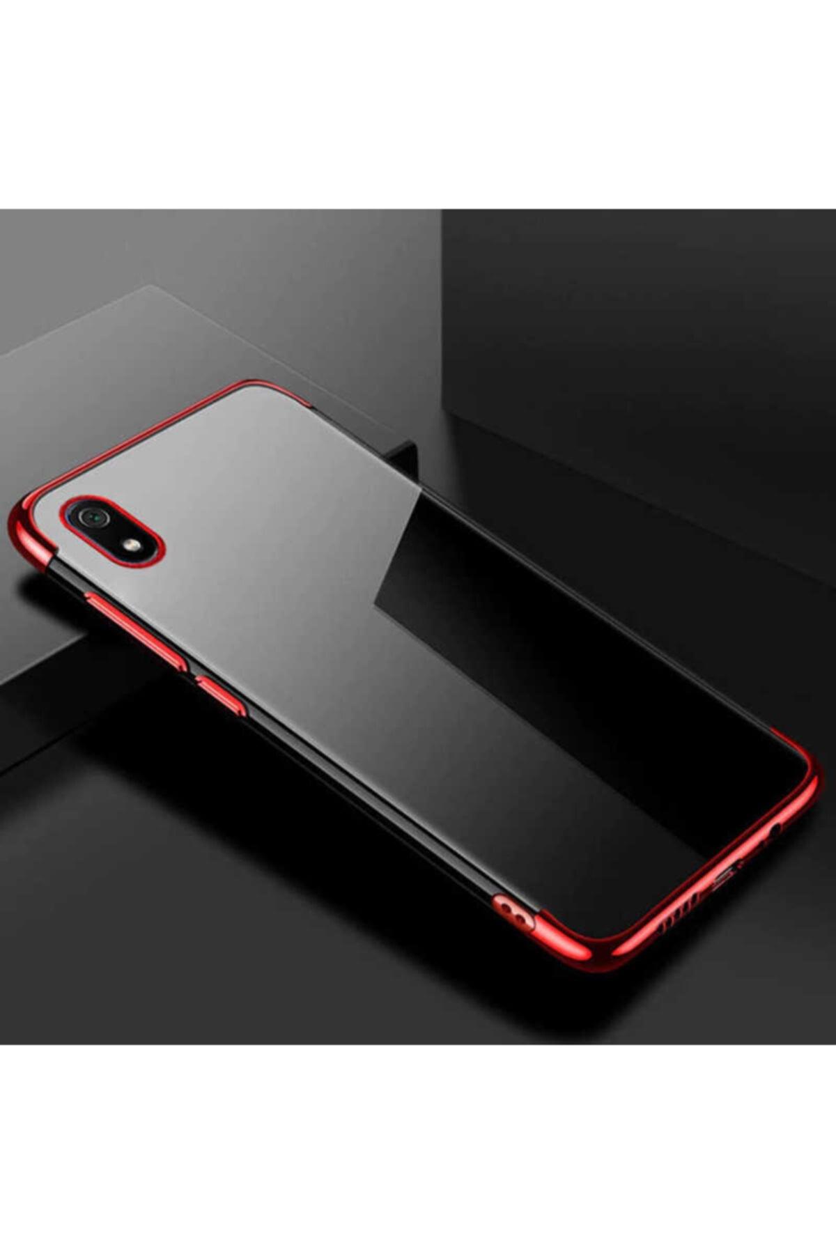 ankacep Xiaomi Redmi 7a Kılıf Dört Köşeli Lazer Silikon Kapak 1