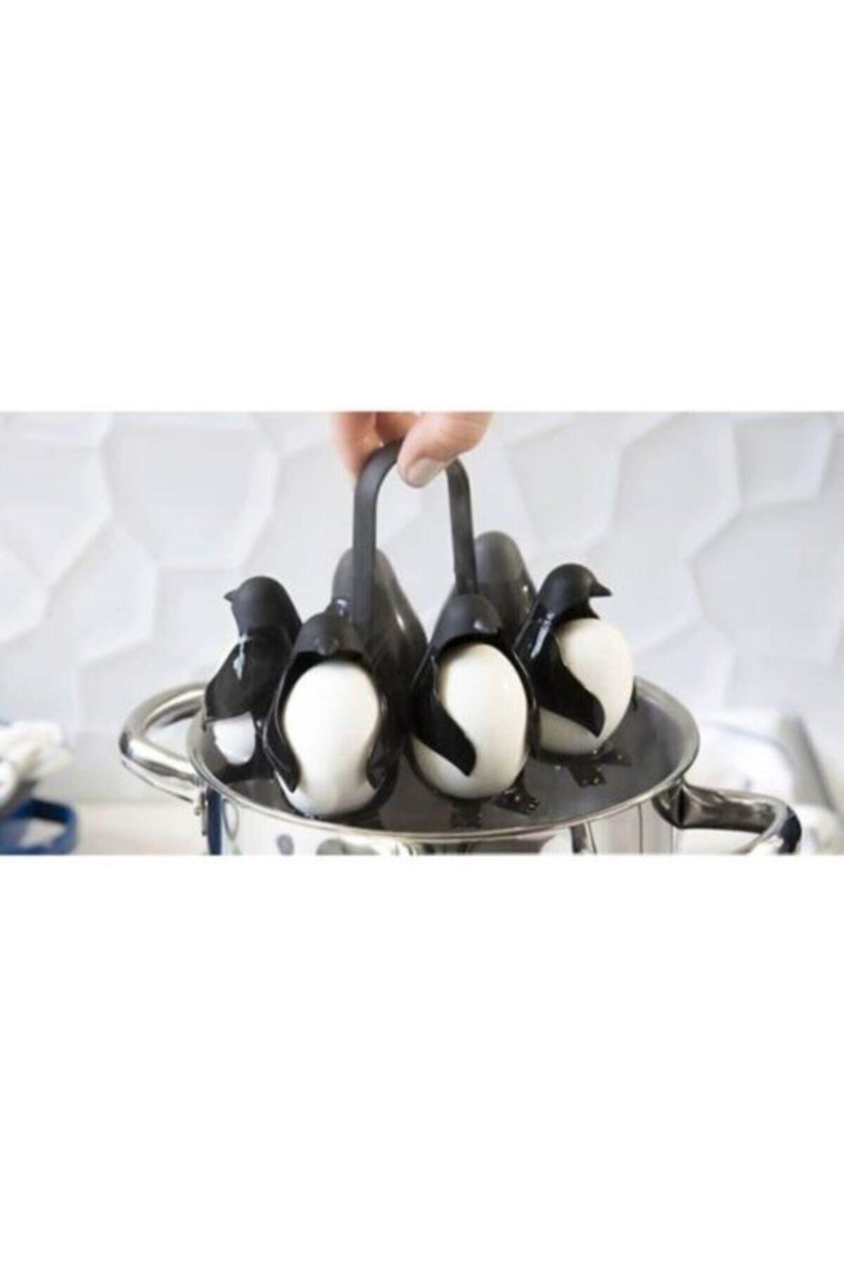 Züka Home Yumurta Haşlama Aparatı Penguen 6'lı 2