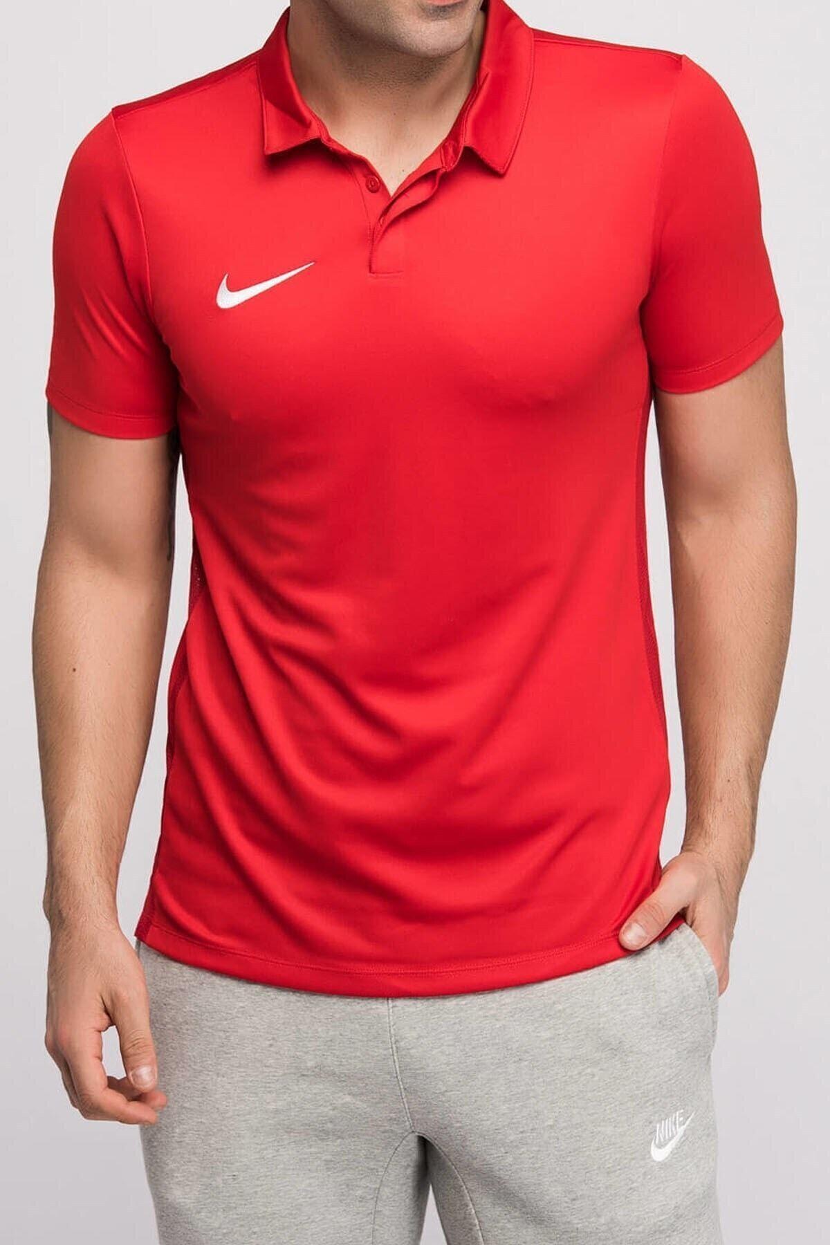 Nike Erkek Kırmızı Polo T-Shirt 1