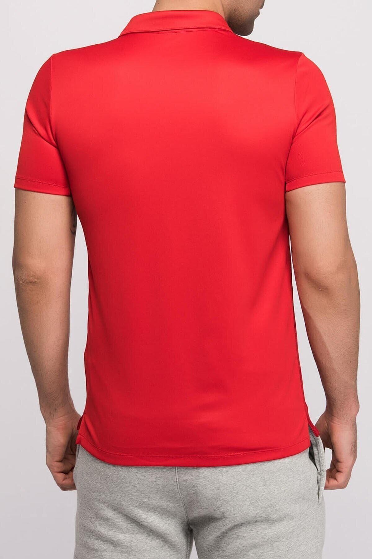 Nike Erkek Kırmızı Polo T-Shirt 2
