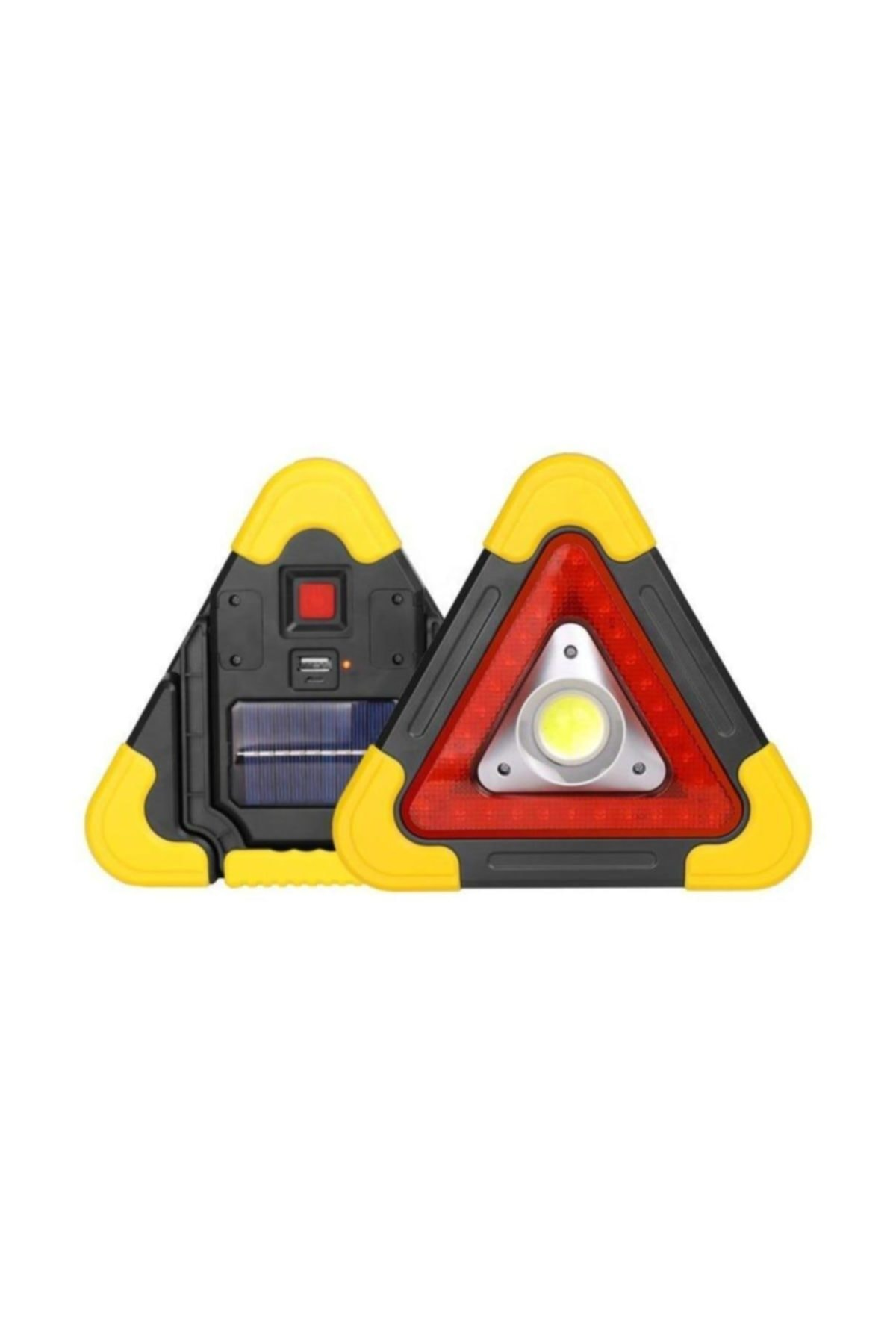 Starmax Reflektör Güneş Enerjili Kamp Feneri Işıldak Powerbank 1