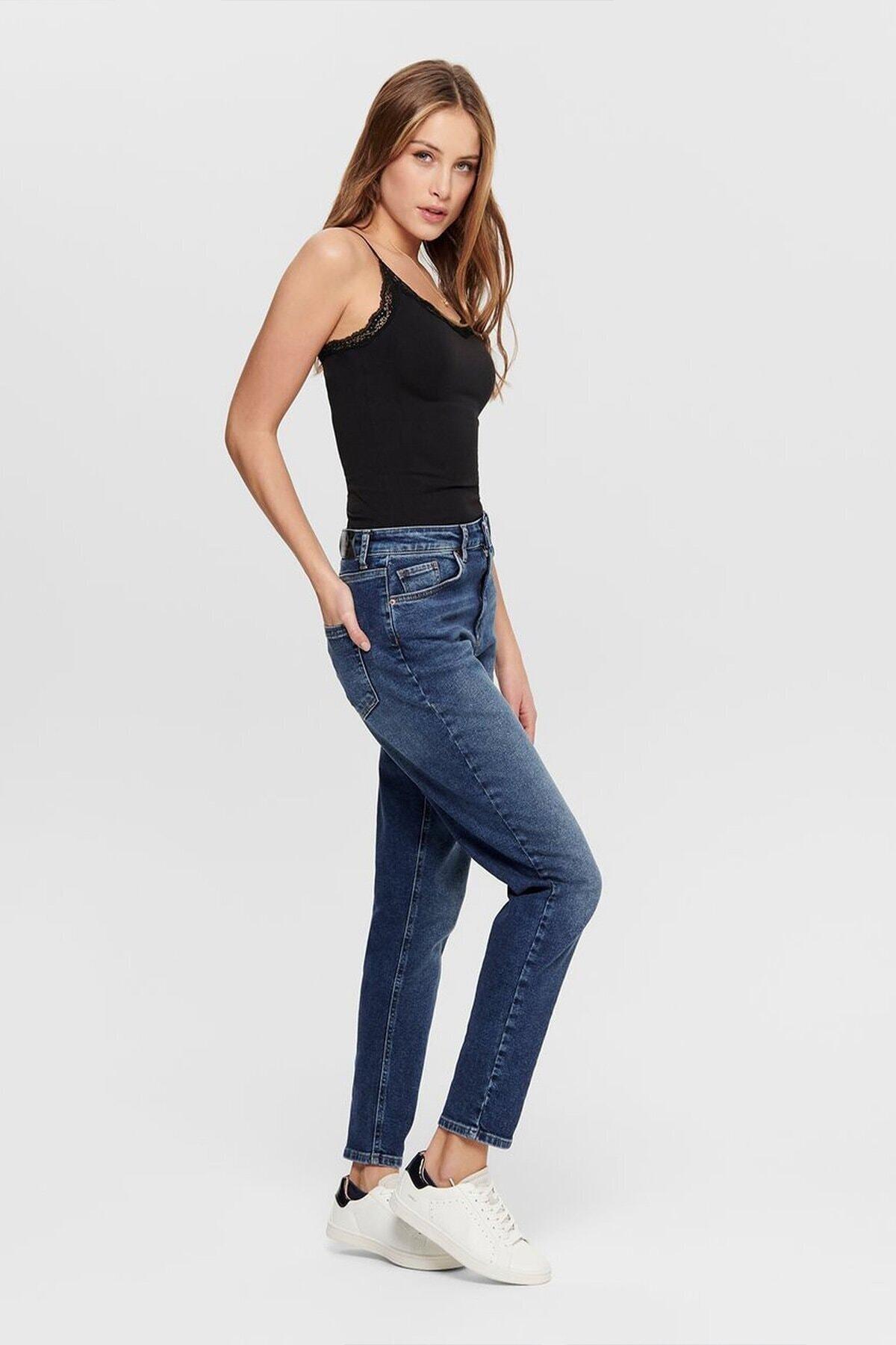 Only Unisex Mavi Veneda Life Mom Jeans 2