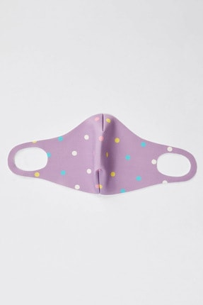 DeFacto Kız Çocuk Baskılı Yıkanabilir Çocuk Maske