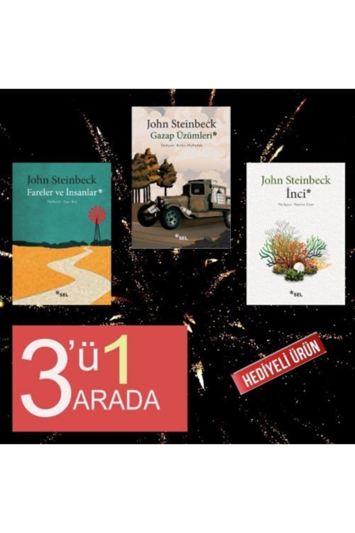 Sel Yayınları John Steinbeck 3lü Paket Ençok Okunan 3kitabı (hediyeli) 1
