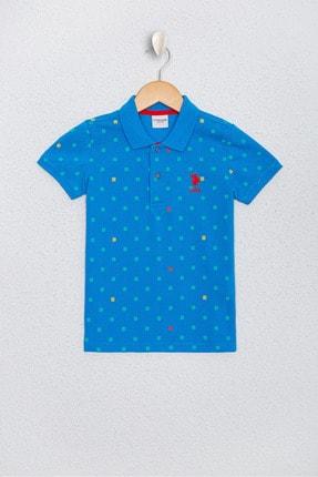U.S. Polo Assn. Erkek Çocuk Mavi T-Shirt
