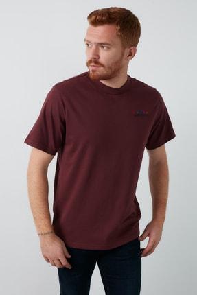 Levi's Erkek Bordo Bisiklet Yaka T-Shirt