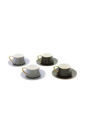 Pierre Cardin Juno Dark 4'lü Kahve Fincanı