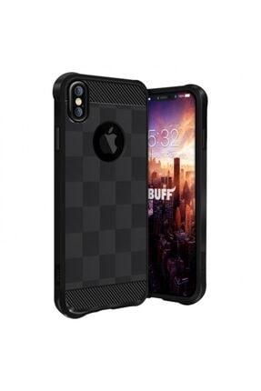 Buff Iphone X Uyumlu Black Armor Kılıf