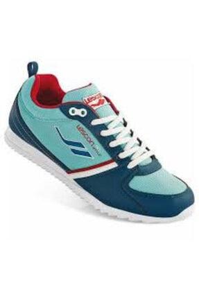 Lescon Kadın Mavi Walking Spor Ayakkabı L-3634
