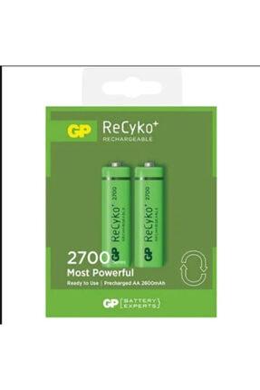 GP Batteries Gp Recyko 2700mah R6 Kalın Kalem Aa Sarjli Pil 2 Li