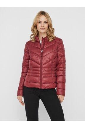 Vero Moda Sorayasiv Aw20 Short Jacket Boos Kadın Bordo Mont 10230860-18