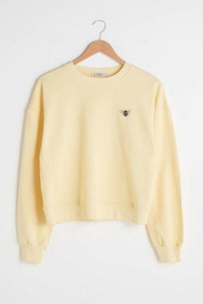 LC Waikiki Kadın Sarı XSIDE Sweatshirt