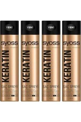 Syoss Keratin Sprey 4x400 ml