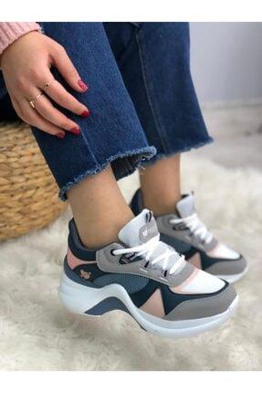Twingo Kadın Pudra Turkuaz Sneaker Ayakkabı