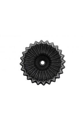 Taç Siyah Ela Döküm Kek Kalıbı 26 cm