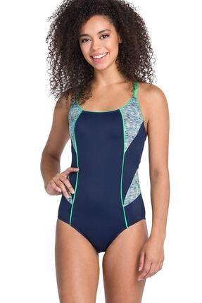 Dagi Kadın Lacivert İnce Askılı Yüzücü Mayo B0119Y0026
