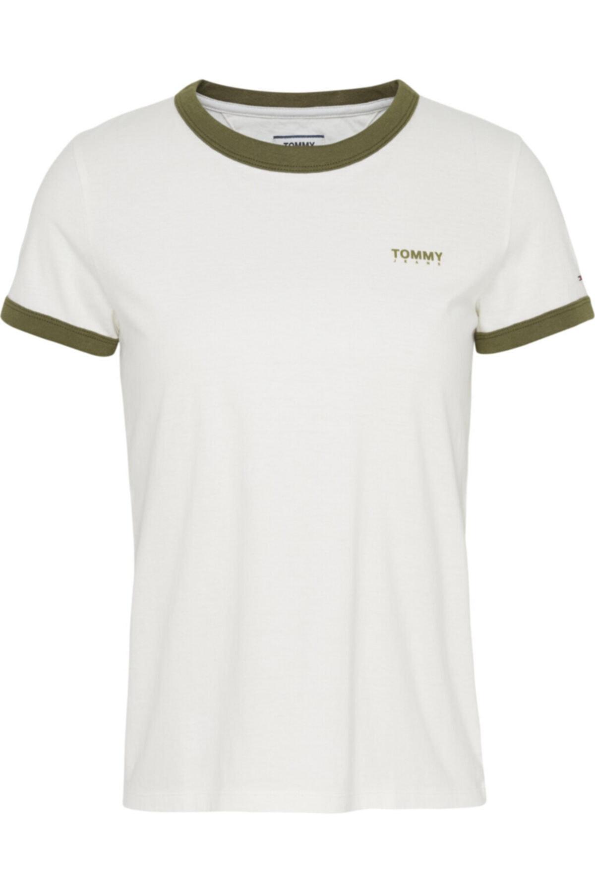 Tommy Hilfiger Tjw Logo Ringer T-shirt 1