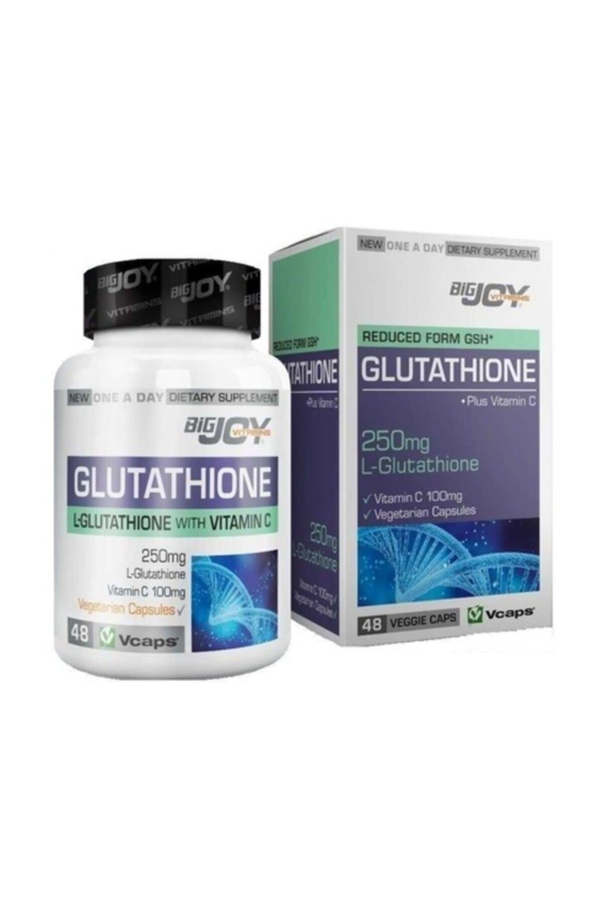 Big Joy Vitamins Glutathione 250g 48 Bitkisel Kapsül 1